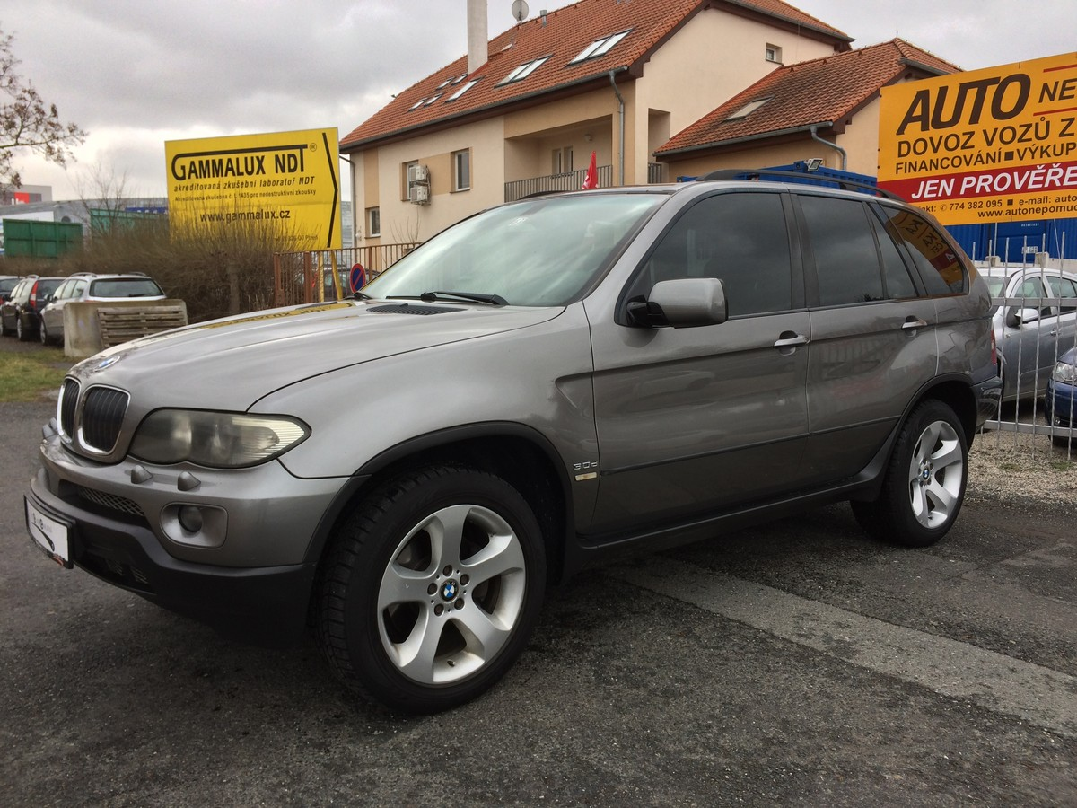 BMW X5 3.0D160kW Sportpacket