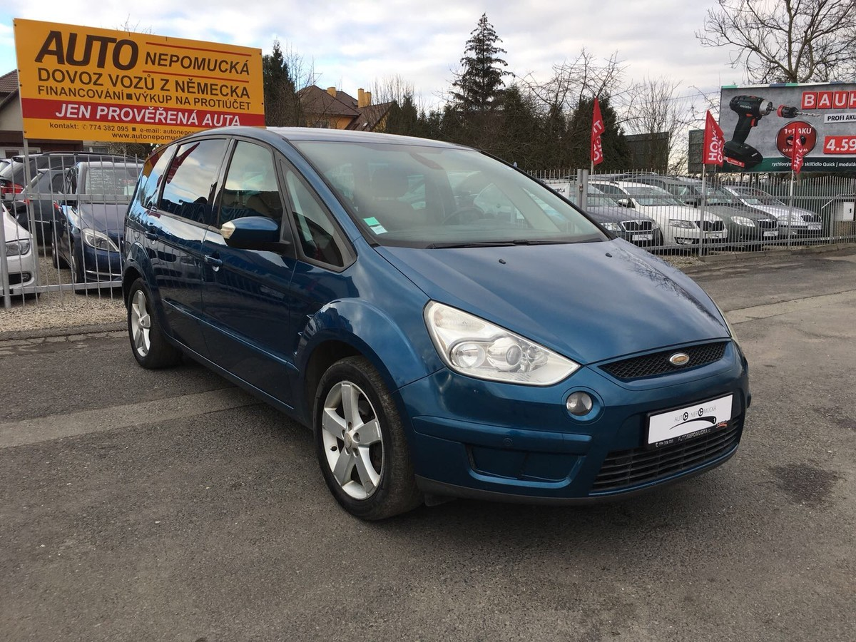 Ford S-MAX 1.8 Tdci 92kw 7-Míst