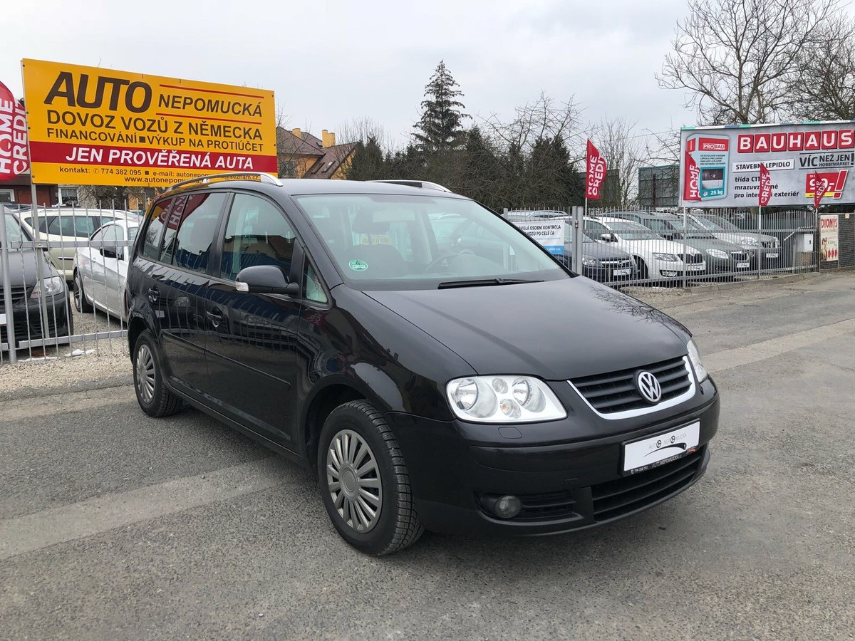 Volkswagen Touran 1.9TDi 74kW Highline