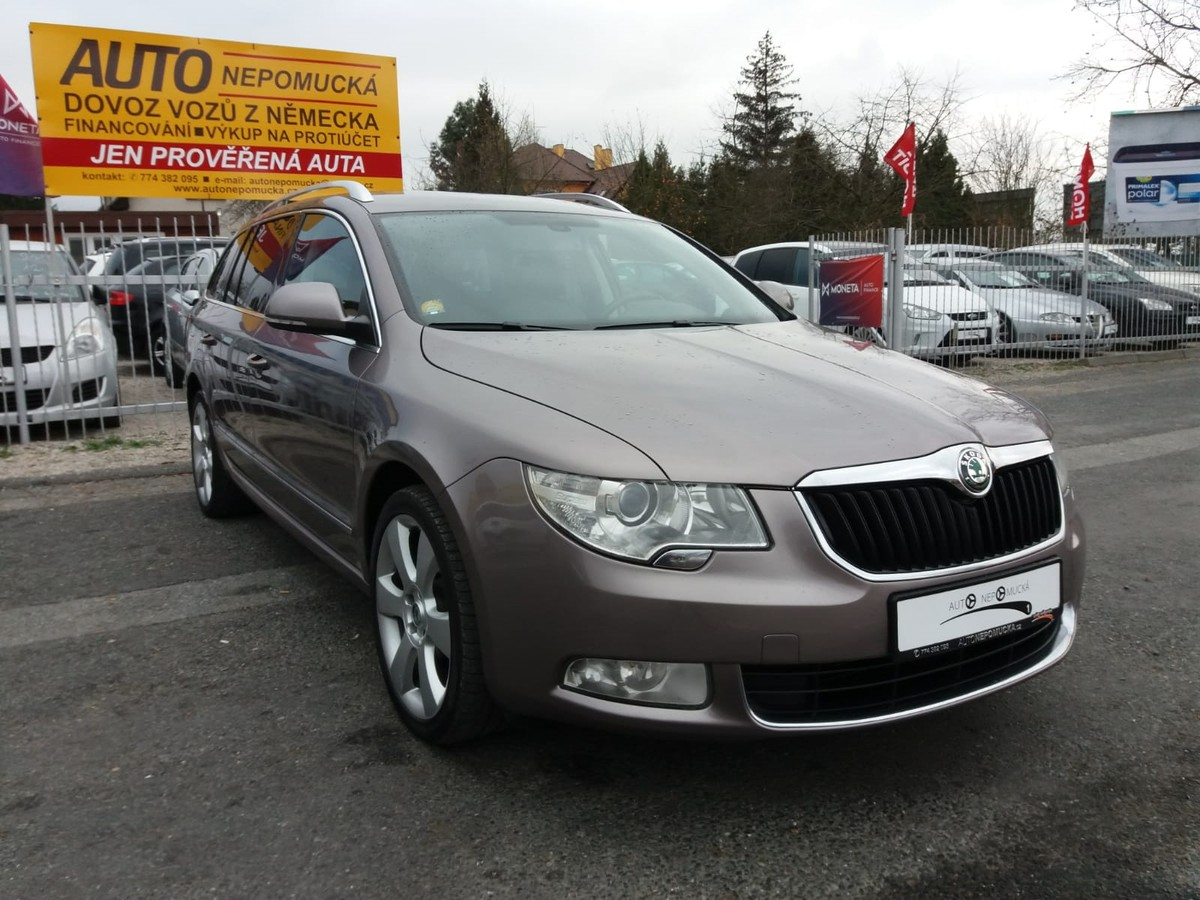 Škoda Superb 2.0TDi 125kW