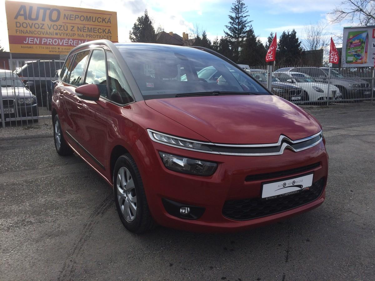 Citroën Grand C4 Picasso 1.6 HDI 85kW 7.míst