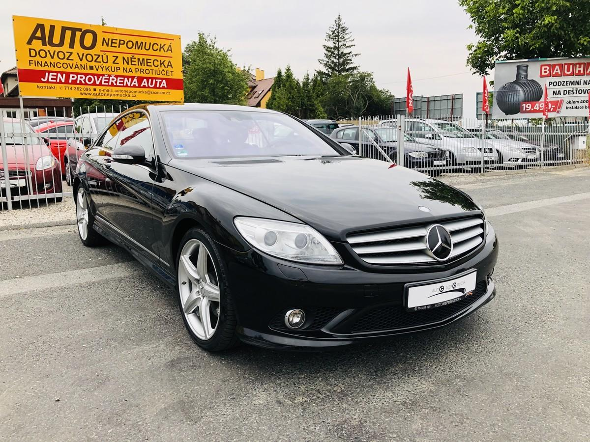 Mercedes-Benz CL 500 LPG 5.5 V8 285kW