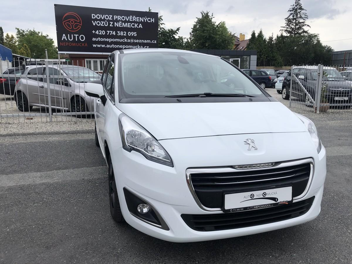 Peugeot 5008 1.6 HDI 84kW, Tažné !